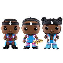 WWE New Day: Big E, Xavier Woods, and Kofi Kingston Pop figures 3 pack by Funko, Toys R Us exclusive