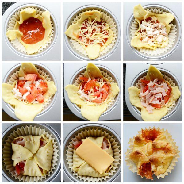 Recept: Hartige Pizza Muffins | By Aranka - een lifestyle-, food- en beautyblog met een persoonlijke twist!