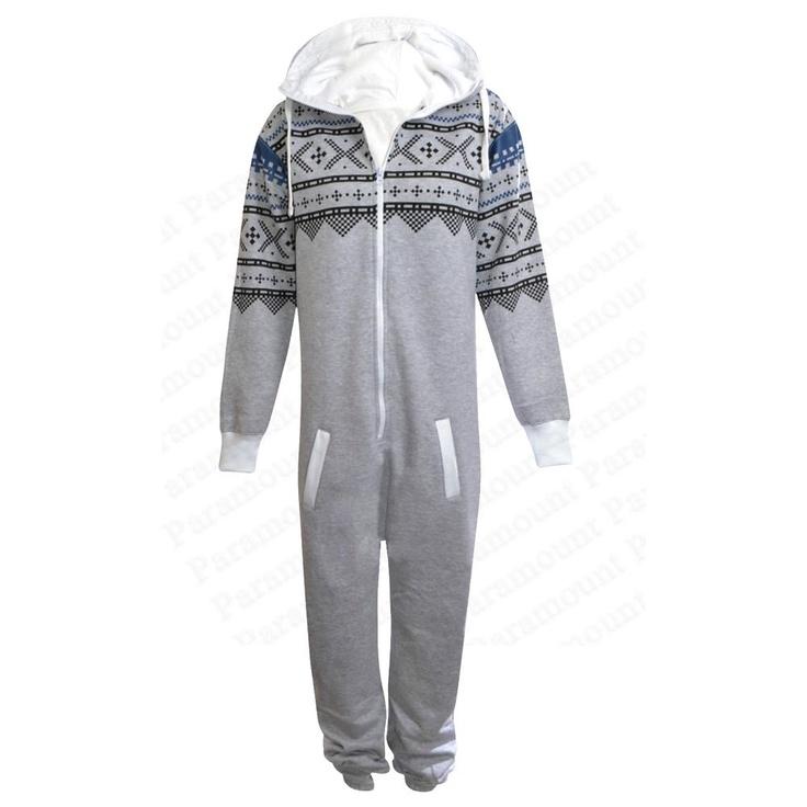 Wintery pyjama onsesie