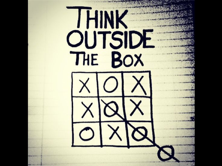 Think Outside the Box.....! #Retail #Change