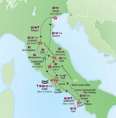 $4,635: 17-Day Rome Tuscany Venice Sorrento Amalfi Coast Italy Tour