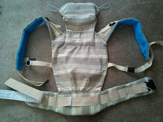 Hobbylka: Ušito - baby nosítko