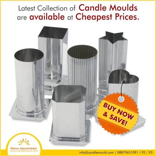 Latest Collection of Candle Moulds are available at cheapest prices. Buy Now & Save!  Call Us: 08879651091 / 92 / 93  #SiliconeCandleMoulds #LatestCollection #Cheapest #Prices #Buy #Save #Hurry #Material #Moulds