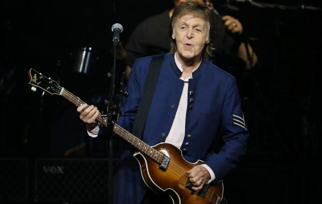 PAUL ON THE RUN: Affable Paul McCartney plays and plays and plays a...