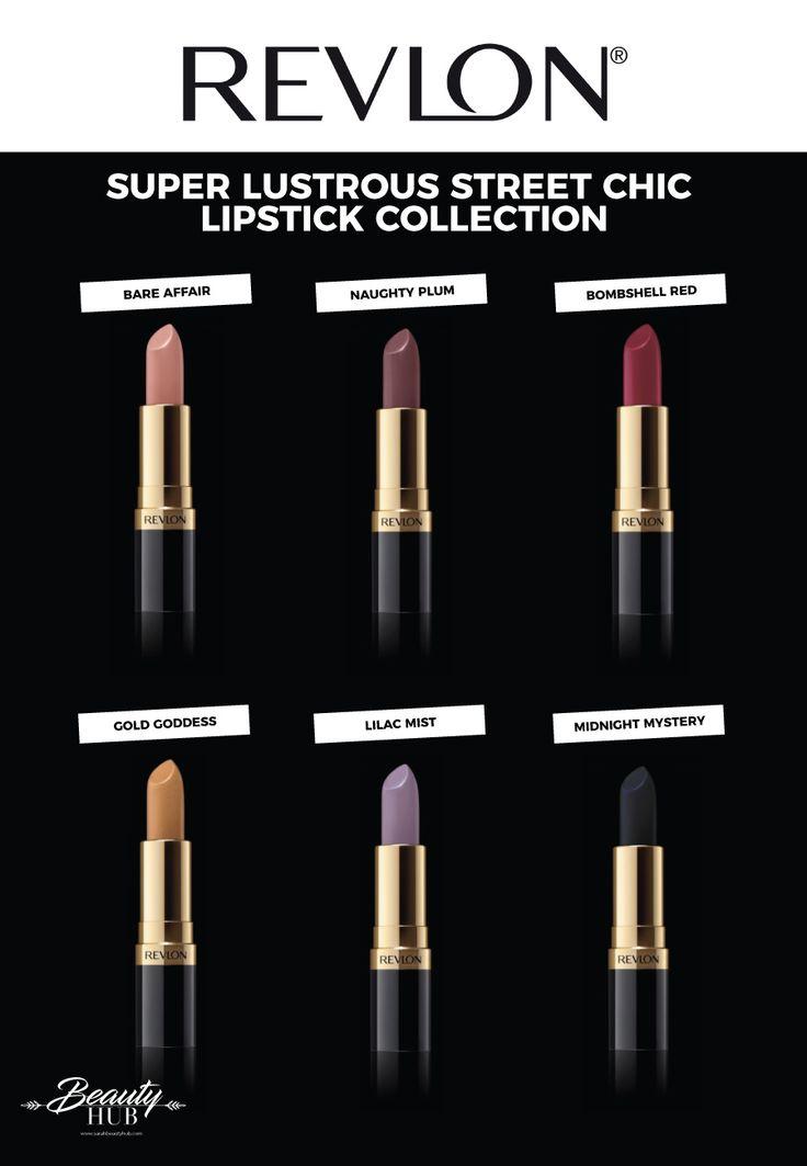 Revlon Super Lustrous Lipstick Street Chic Collection