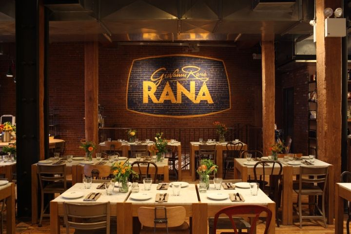 Giovanni Rana flagship restaurant branding by 45gradi New York  Giovanni Rana flagship restaurant branding by 45gradi, New York