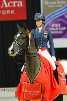 Reigning Champions Charlotte Dujardin and Valegro Win FEI Grand Prix at 2015 FEI World Cup Final in Las Vegas