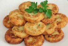 Chifteluțe de cartofi cu usturoi și verdeață. Sunt delicioase, pot fi preparate pentru toate gusturile, coapte sau prăjite