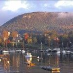 Camden, Maine - We went in October & the fall colors were amazing