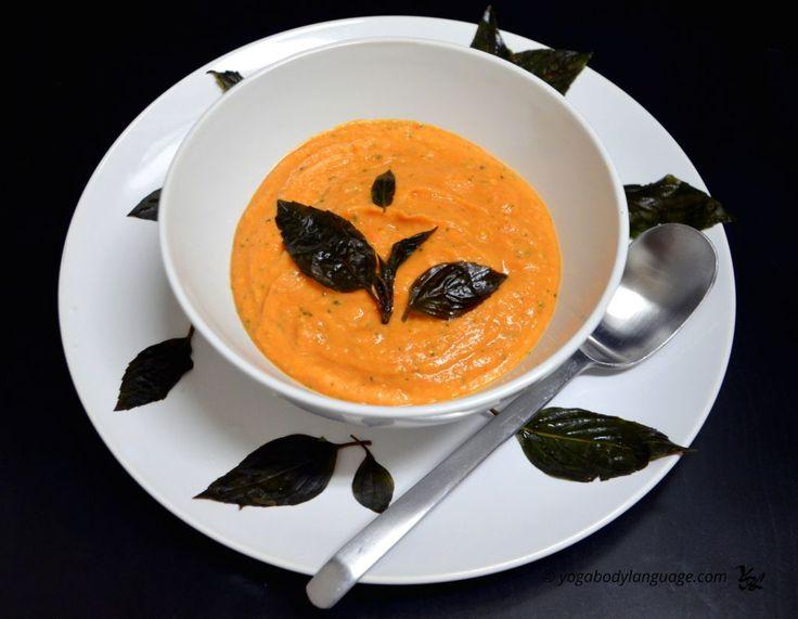 томатный суп из базилика и авокадо рецепт