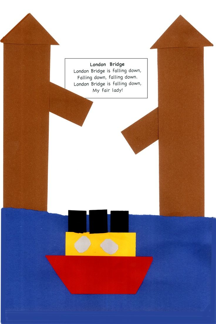 london bridge is falling down crafts for kids | London bridge is falling down…