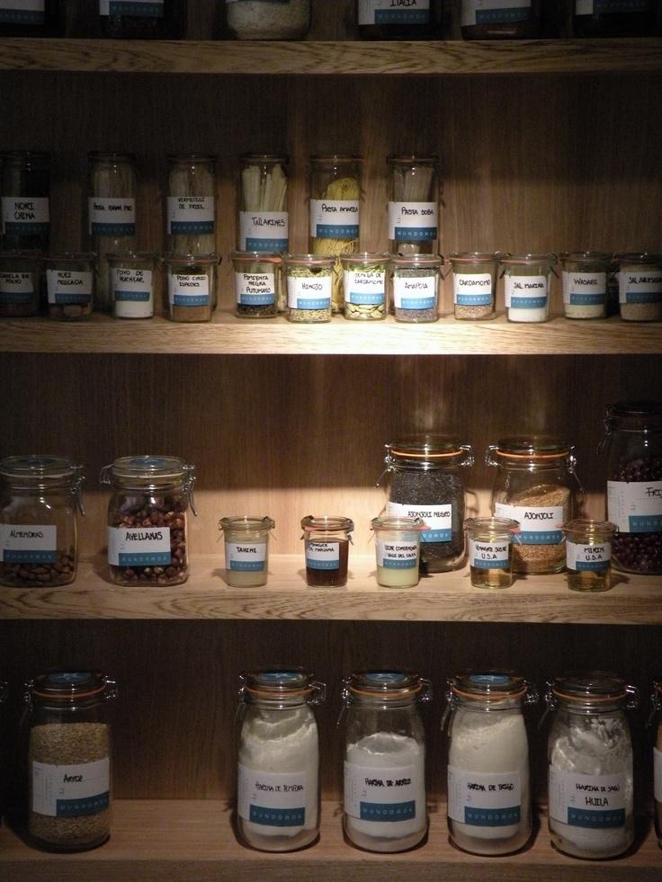 Biblioteca de ingredientes de MundoWok