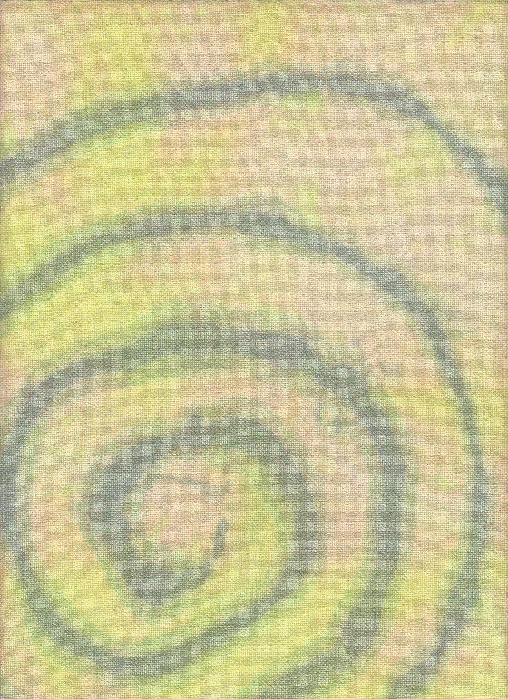 Chromatic Alchemy Spooky Spiral Opal linen 28 ct 10x14 ? Vertigo?