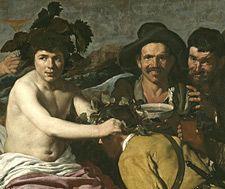El triunfo de Baco, o Los Borrachos de Velázquez.