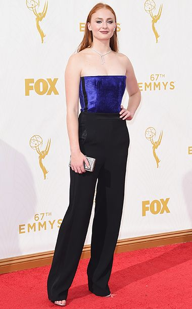 Sophie Turner - Emmy Awards 2015 - Red Carpet Arrivals