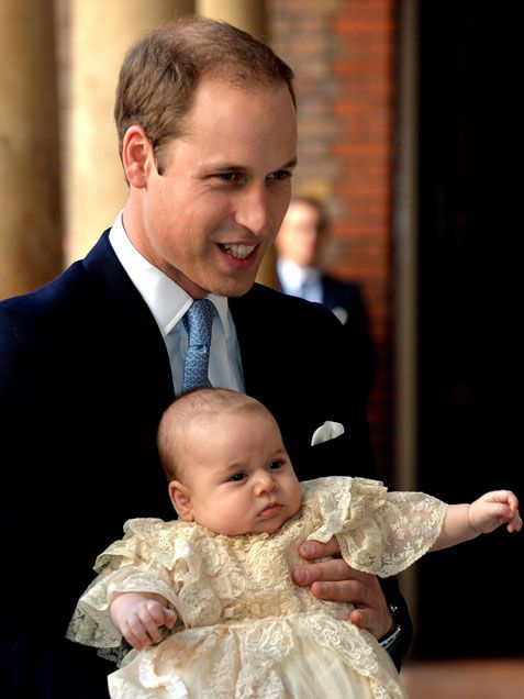 Prince George's Christening: See All the Photos! - iVillage
