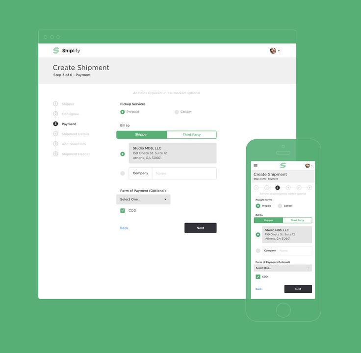Responsive payment form - Matt D Smith