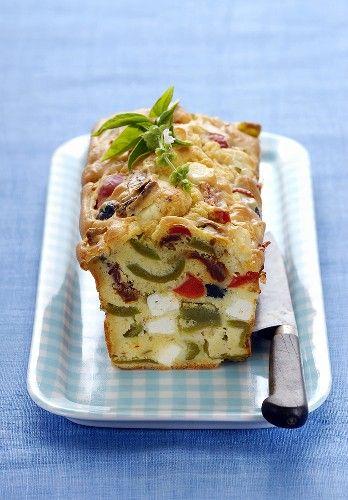 Chec cu legume şi brânză
