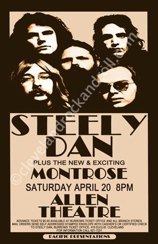 Steely Dan...saw in concert once....amazing...played with Michael McDonald