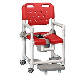 •Virtually indestructible blow molded seat and backrest available in Gray, Red, Blue •Open-front seat and U-shaped opening in frame allow easy access for bathing care •Special seat design offers unmatched comfort •Snap-on seat lifts off frame for easy cleaning •Never rust, all locking, twin-wheel casters •Backrest push handles for easy mobility •Slide-out pail included •This […]