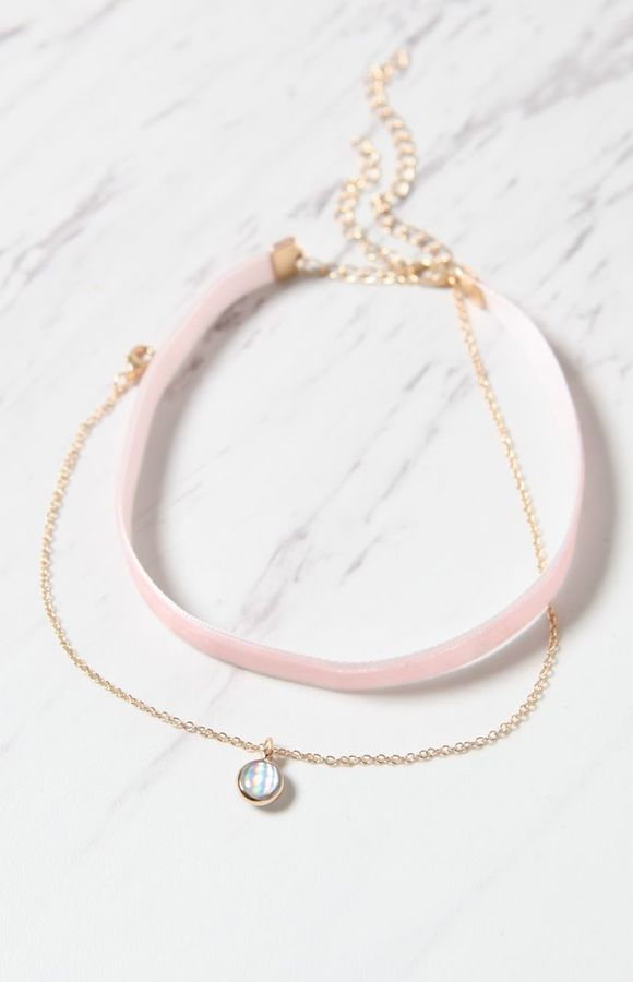The Very Best Gift Sets to Give This Year. La Hearts  Faux Stone Velvet Choker Set on Shopstyle.