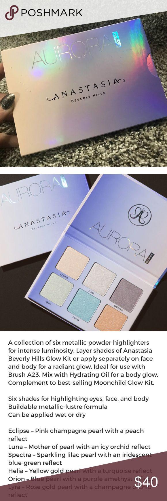 Anastasia BH AURORA glow kit Authentic. Brand new Glow kit from ABH. Anastasia Beverly Hills Makeup Luminizer