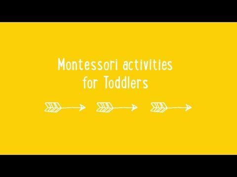 Montessori Activities for toddlers by Simone Davies of The Montessori Notebook - YouTube #Montessori