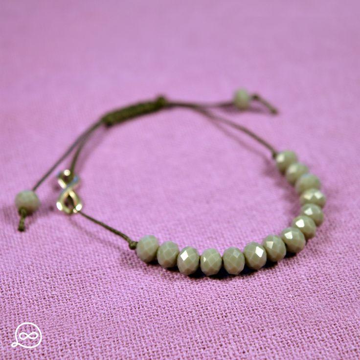 Grey Beads Bracelet. #tufatufa