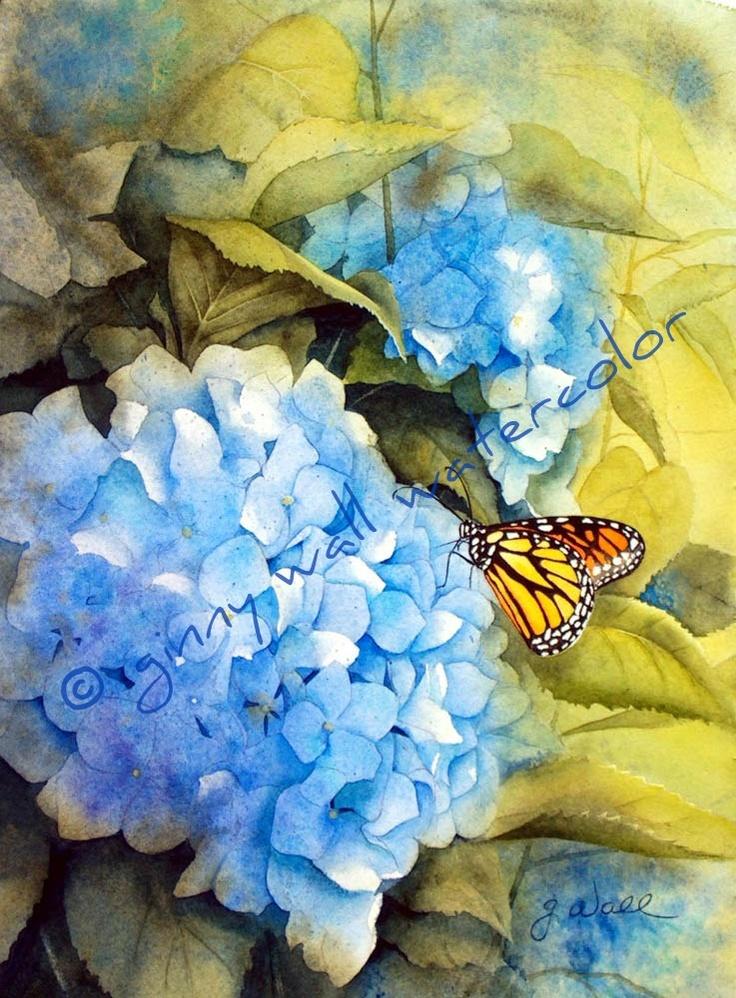 270 best images about watercolor art on pinterest for Easy watercolor portrait