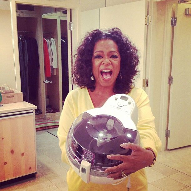 """""""This machine..T-Fal actifry has changed my life. And they're not paying me to say it."""" -Oprah Winfrey. Get the ActiFry here: http://www.bedbathandbeyond.com/product.asp?SKU=17317113"""
