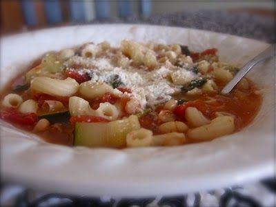 Pasta E FagioliBroth, Pasta And Beans, Recipe, Meals, Pasta Fagioli, Summer Soup, Fagioli Soup, Homemade Pasta, Kitchens Step