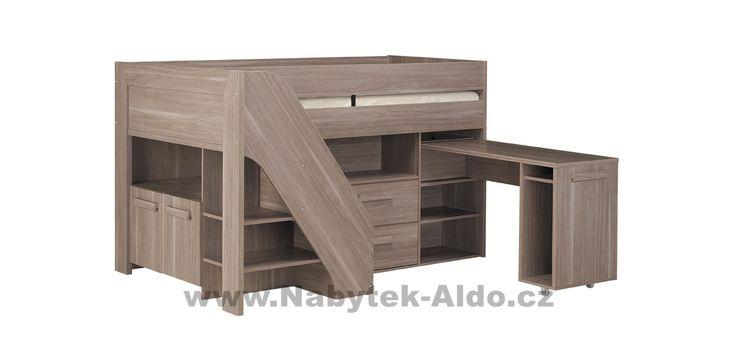 Dětská postel multifunkční Hangun G36.106