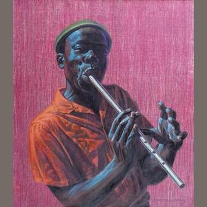 Vladimir Griegorovich Tretchikoff (South African, 1913-2006) 'Kwela Boy' Sold for £22,800 inc. premium