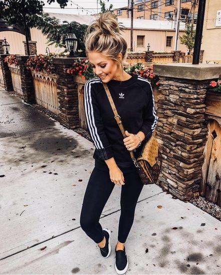 Pinterest: •Linell• Adidas Originals TRF Sweatshirt.