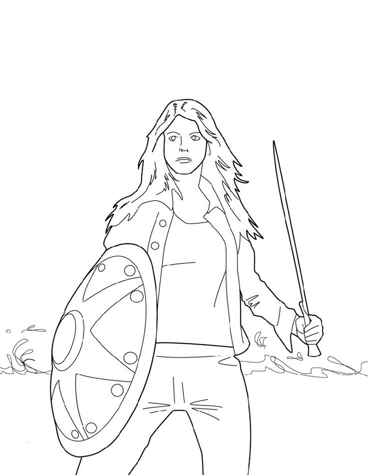 Percy Jackson Coloring Pages Coloring pages for girls