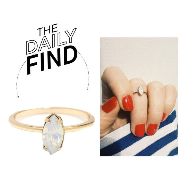 """""""The Daily Find: Bing Bang Ring"""" by polyvore-editorial ❤ liked on Polyvore featuring Bing Bang and DailyFind"""