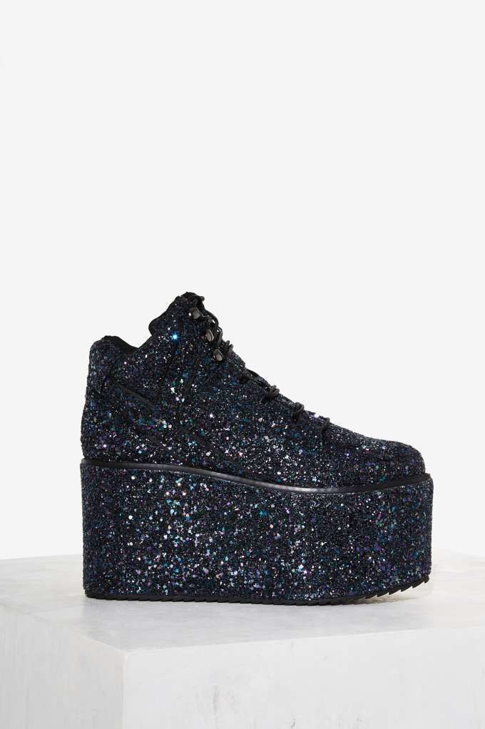 YRU Qozmo Platform Sneaker - Shoes | Platforms | Sneakers | The Ice Queen | The Party Animal | All Gifts | Last Chance | Party Shoes | All Party