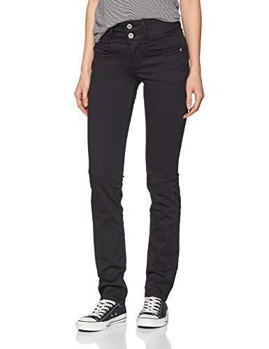 up 30 Jean Jeans 00032 Femme Double Noir Droit 158 Tiffosi 75w1x8qc