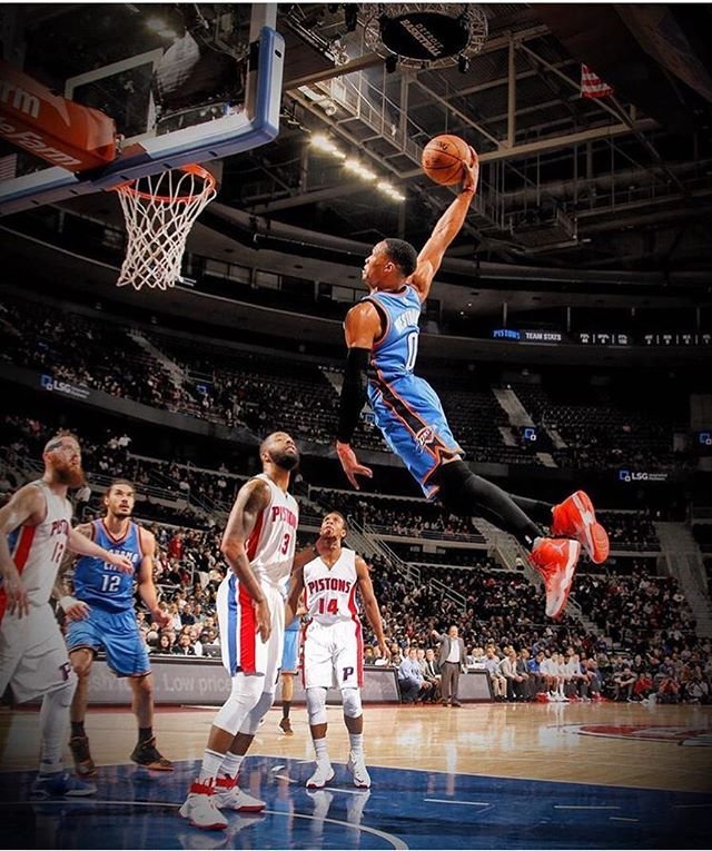 "Russell Westbrook • ""in the Motor City"""