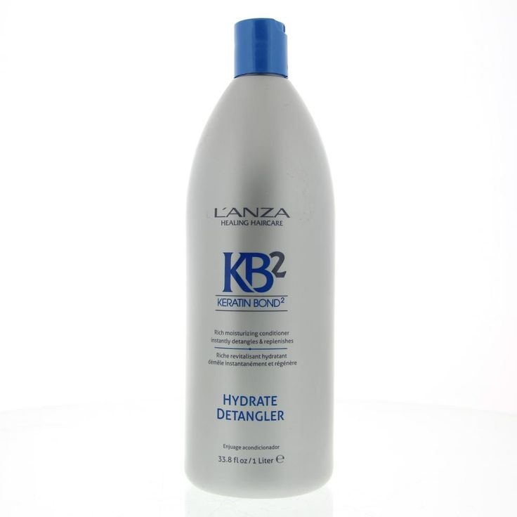 L'Anza Daily Elements KB2 Hydrate Detangler Conditioner Alle Haartypen 1000ml  Description: L'Anza Daily Elements Hydrate Detangler.Krachtige voedingrijke antiklit conditioner. Herstelt vitaal vocht en elasticiteit in droog haar. Verlost het haar direct van knopen en klitten die zijn ontstaan in ruwe lengtes en punten. Bevat essentiële vitamines en voedende ingrediënten.Keratin Bond System 2 (KB2): Exclusief herstellend ingrediënt met keratine aminozuren moerasbloemzaad complex en Moisture…
