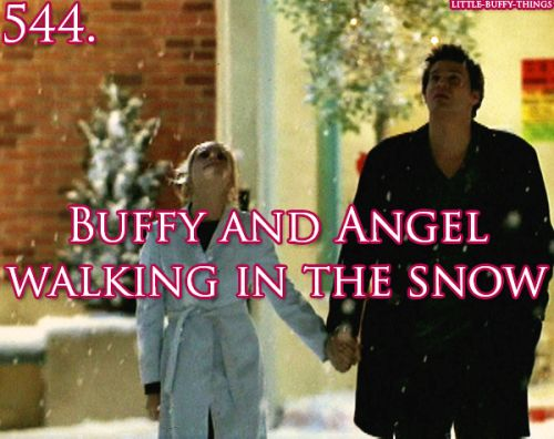 Buffy and Angel Episode - Amends.  I hated this episode  because I hated angel's return.  He was dead and gone and should  have stayed that way, but since they were going to spin him off, he had to come back.  The direction his relationship  with buffy  changed and I hated the way it went.