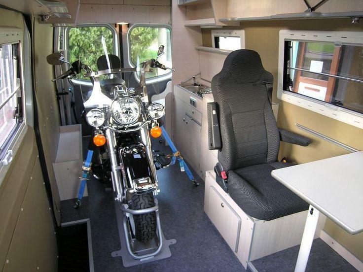7 besten motorradtransport bilder auf pinterest vw t5 im wohnmobil und t5 transporter. Black Bedroom Furniture Sets. Home Design Ideas