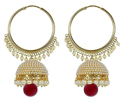 VVS Jewellers Indian Bollywood Style Gold Plated Red Pear... https://www.amazon.com/dp/B072N7MQZ7/ref=cm_sw_r_pi_dp_x_WvJqzb7GFY9DS