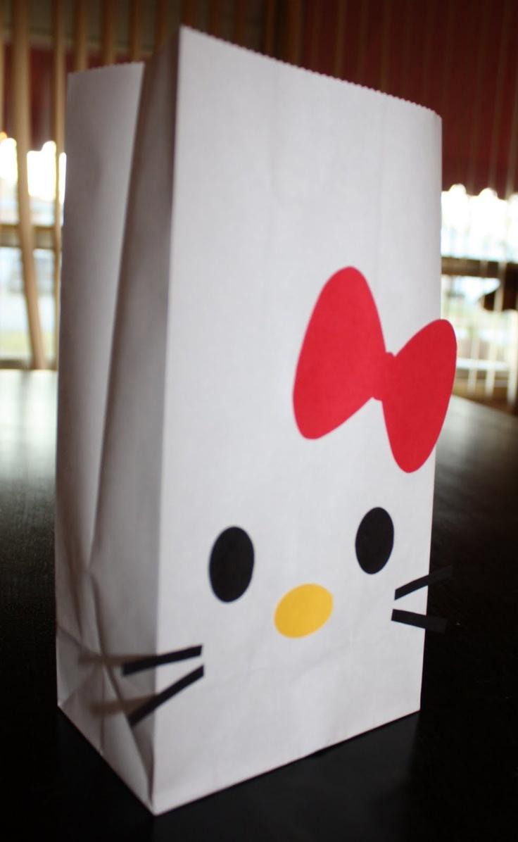 Best 25 hello kitty favors ideas on pinterest hello - Table de chevet hello kitty ...