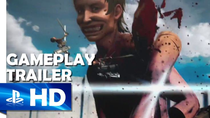 Attack on Titan | Debut Gameplay Trailer (PS4, PS3, PS Vita)