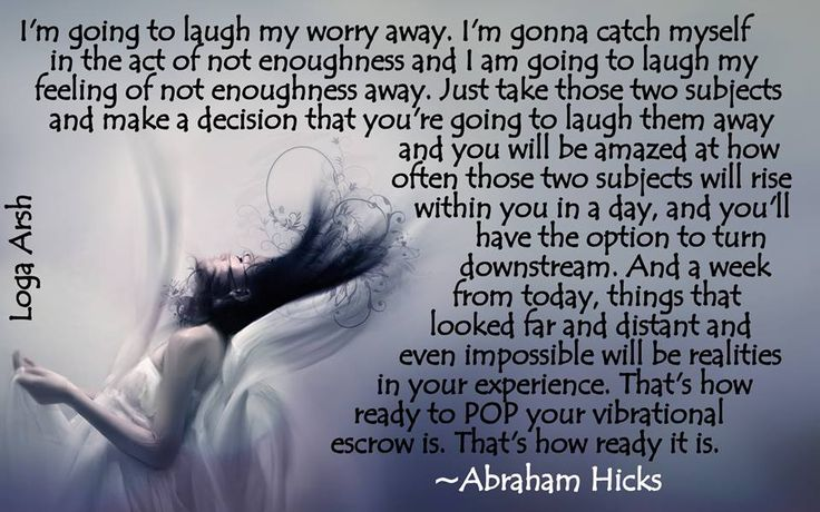 My friend Loga Arsh does the most fantastic visual metaphors with the words of Abraham-Hicks. Find her on Facebook at Abraham Hot & Spicy. _/|_
