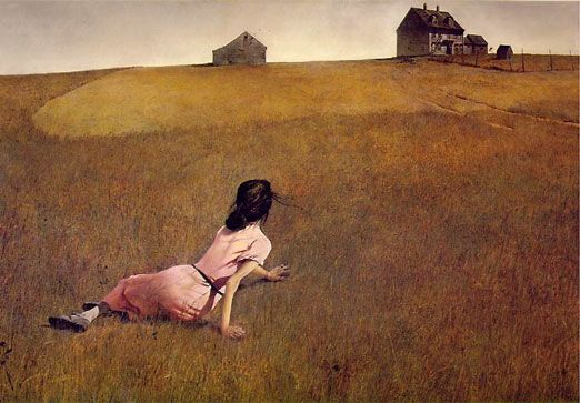 Andrew Wyeth Painting Christina S World Graphic