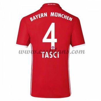 Bayern Munich Fotbalové Dresy 2016-17 Tasci 4 Domáci Dres