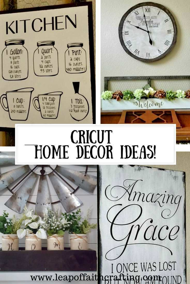 Cricut Home Decor Ideas There Are So Many Beautiful DIY Items You Can
