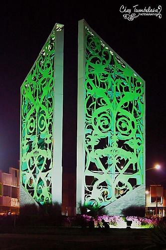 Dayak Shields Gate